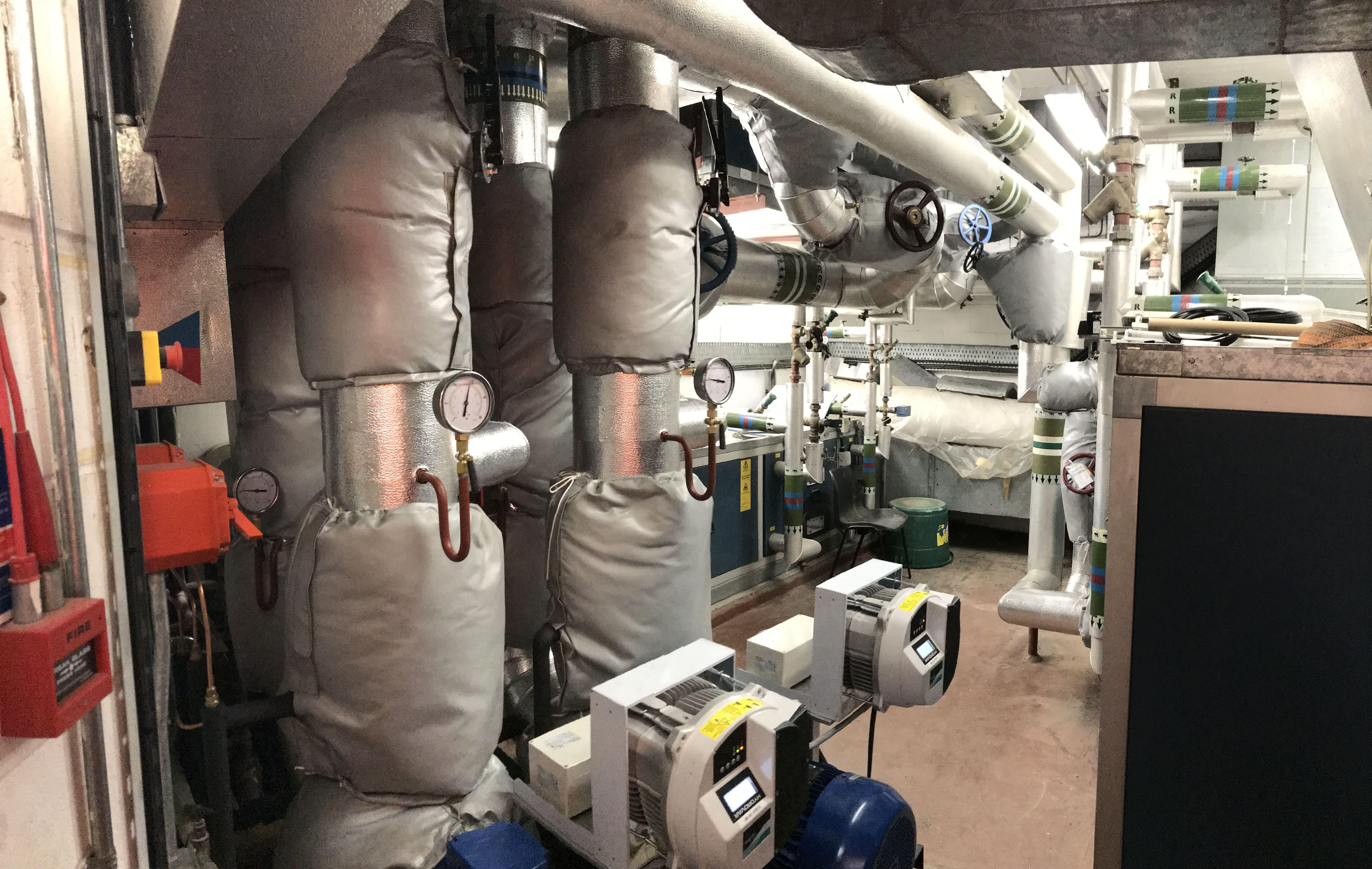 Chiller & Pump Replacement