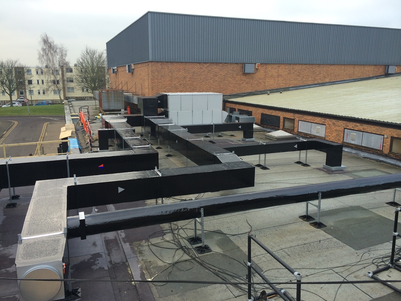 LTHW & Ventilation installation