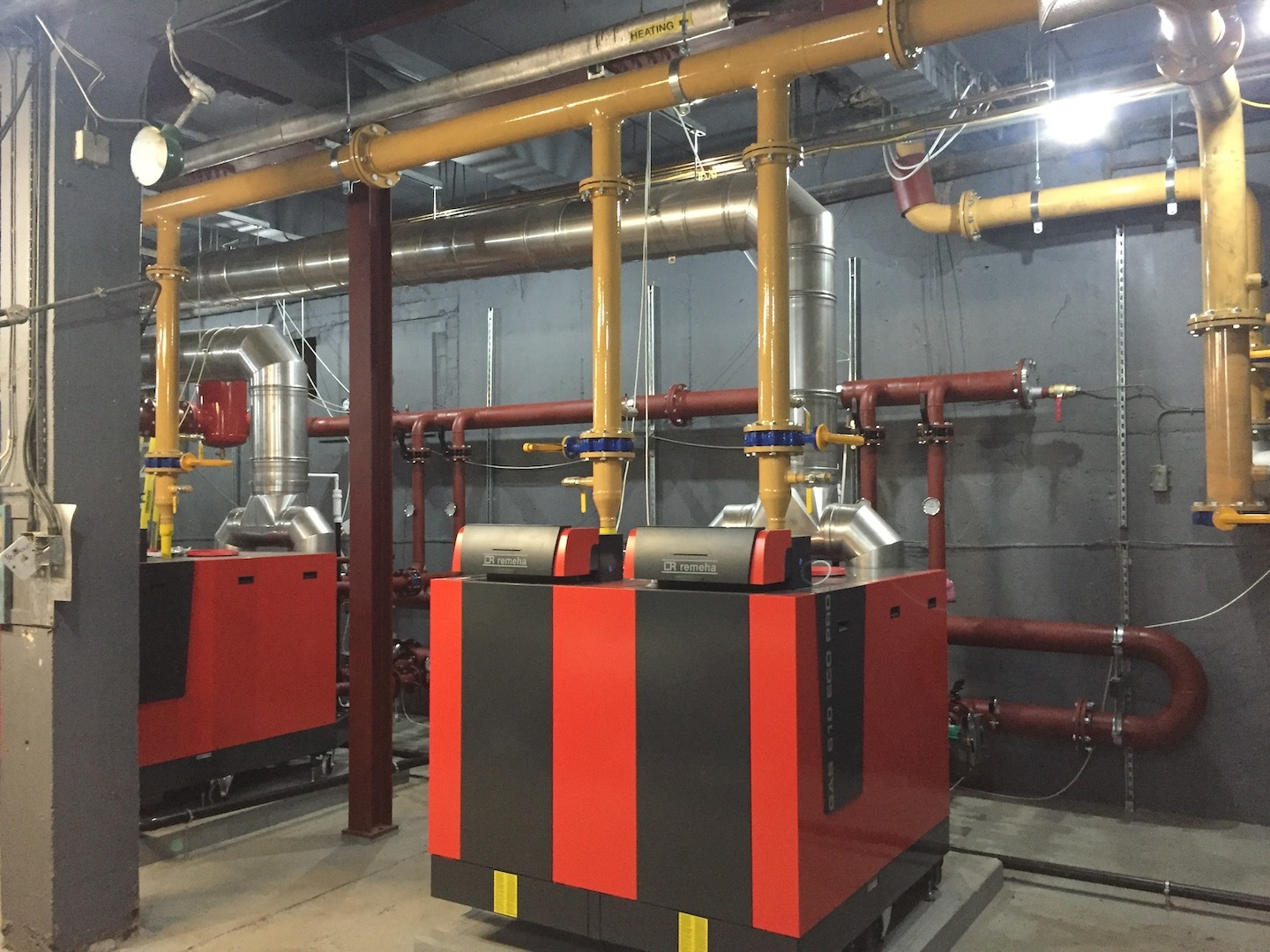 Boiler Replacement & System Upgrades